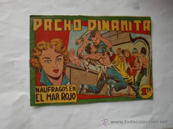 Tebeos: PACHO DINAMITA Nº 74 -115-119 ORIGINAL - Foto 2 - 33682737