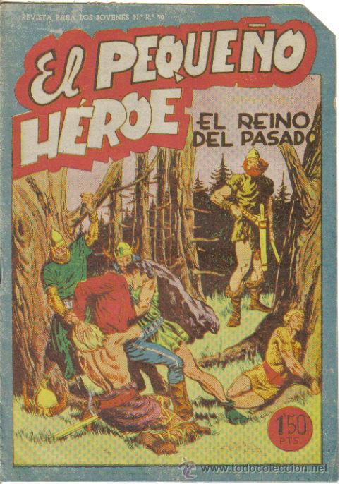 EL PEQUEÑO HEROE Nº 34. EL REINO DEL PASADO. ORIGINAL MAGA. (Tebeos y Comics - Maga - Pequeño Héroe)