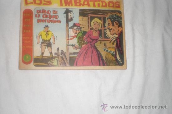 LOS IMBATIDOS Nº 15 (Tebeos y Comics - Maga - Otros)