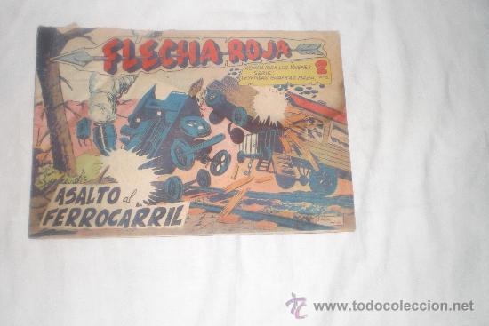 FLECHA ROJA Nº 67 (Tebeos y Comics - Maga - Flecha Roja)