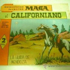 Tebeos: EL CALIFORNIANO DE MAGA Nº 10. Lote 34068547