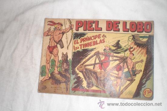 PIEL DE LOBO Nº 25 (Tebeos y Comics - Maga - Piel de Lobo)