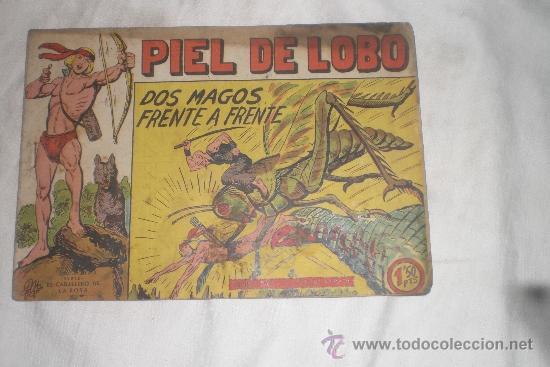 PIEL DE LOBO Nº 22 (Tebeos y Comics - Maga - Piel de Lobo)