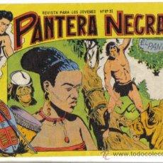 Livros de Banda Desenhada: PANTERA NEGRA Nº 22. EL PANTANO. FACSIMIL.. Lote 34184250