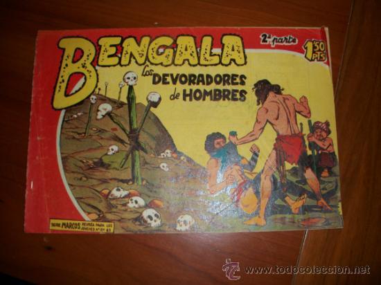BENGALA 2ª Nº 15 EDITORIAL MAGA 1959 ORIGINAL (Tebeos y Comics - Maga - Bengala)