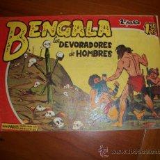 Tebeos: BENGALA 2ª Nº 15 EDITORIAL MAGA 1959 ORIGINAL . Lote 34367502