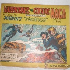 Tebeos: NARRACIONES Y CUENTOS MAGA JOHNNY PACIFICO Nº 3. Lote 34218385