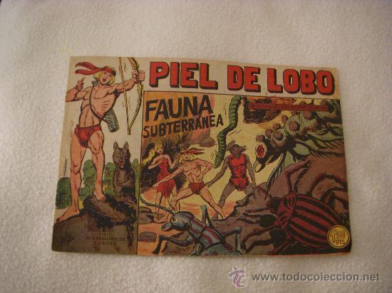 PIEL DE LOBO Nº 24, EDITORIAL MAGA (Tebeos y Comics - Maga - Piel de Lobo)