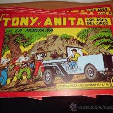Giornalini: LOTE DE 10 COMICS DE TONI Y ANITA ED. MAGA. Lote 34547280