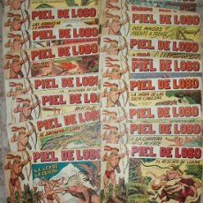 Tebeos: PIEL DE LOBO (MAGA) LOTE DE 25 NUMEROS DIFERENTES. Lote 34770440