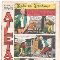 Tebeos: ATLETAS - 2ª ÉPOCA - RODRIGO VENDAVAL ORIGINAL 1966 MAGA- COMPLETA 6 NºS - LEOPOLDO ORTIZ, BOLUDA,. Lote 34901784