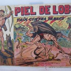 Tebeos: PIEL DE LOBO , NUMERO 4 , EDITORIAL MAGA - ORIGINAL. Lote 35128988