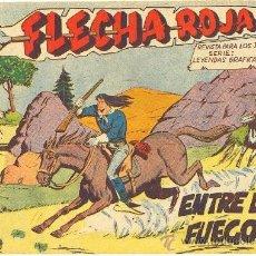 Tebeos: FLECHA ROJA Nº 9 (MAGA). Lote 34969536