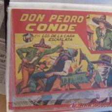 Tebeos: MAGA DON PEDRO CONDE Nº 1- 3-7-10-11-12 ULTIMO,. Lote 49532320