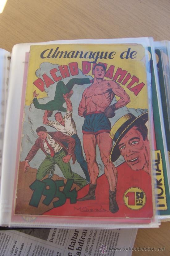 MAGA PACHO DINAMITA EN LOTE , VER DETALLES (Tebeos y Comics - Maga - Pacho Dinamita)