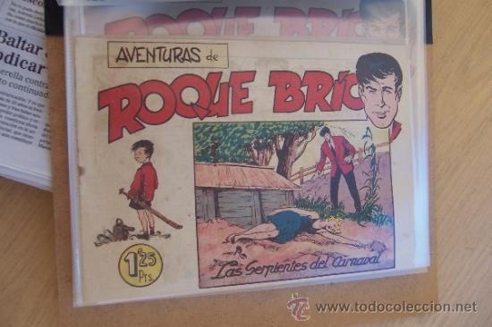 MAGA ROQUE BRÍO Nº 1-2-3-6-7 Y EL ALMANAQUE (Tebeos y Comics - Maga - Otros)