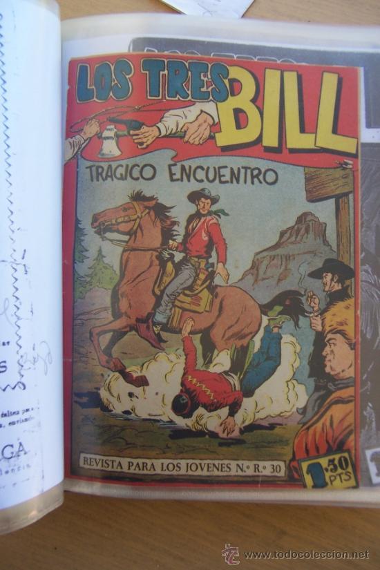 MAGA LOS TRES BILL Y SUS SERIES HACHA Y ESPADA-AQUILES-IMBATIDOS ETC. (Tebeos y Comics - Maga - Otros)
