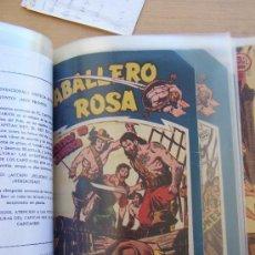 Tebeos: MAGA CABALLERO DE LA ROSA Y SUS SERIES, -PIEL DE LOBO - EL RANCHERO. Lote 35308350