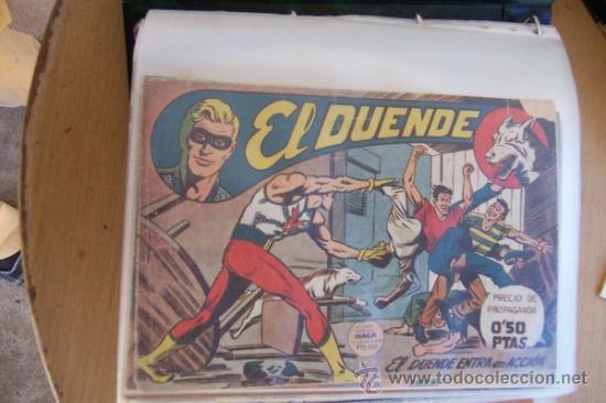 MAGA LEYENDAS GRÁFICAS MAGA Y SUS SERIES- EL DUENDE-FLECHA ROJA- FLECHA ROJA REVISTA (Tebeos y Comics - Maga - Otros)