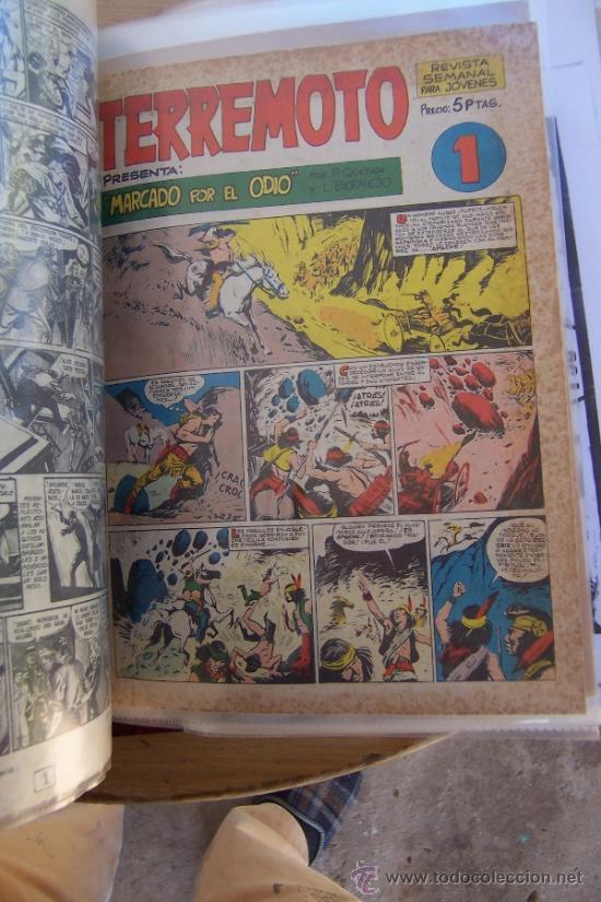 MAGA SERIE TERREMOTO-APACHE-BENGALA-ROQUE BRIO-AVENTURAS DEPORTIVAS (Tebeos y Comics - Maga - Otros)