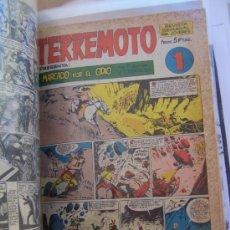 Tebeos: MAGA SERIE TERREMOTO-APACHE-BENGALA-ROQUE BRIO-AVENTURAS DEPORTIVAS. Lote 35375876