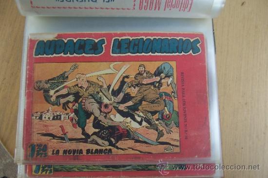 MAGA AUDACES LEGIONARIOS COMPLETA - CON ALMANAQUE INCLUIDO (Tebeos y Comics - Maga - Otros)