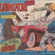 Tebeos: COMIC OLIMAN Nº 44 CON LAMINA POSTERIOR DEL EQUIPO DE FUTBOL C.D. MESTALLA. Lote 35377698