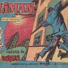 Tebeos: COMIC OLIMAN Nº 41 CON LAMINA POSTERIOR DEL EQUIPO DE FUTBOL REAL JAEN. Lote 35377717