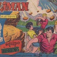 Tebeos: COMIC OLIMAN Nº 32 CON LAMINA POSTERIOR DEL EQUIPO DE FUTBOL REAL SANTANDER. Lote 35377867