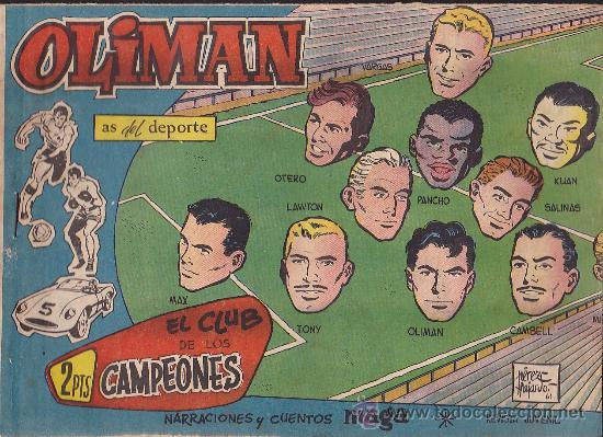 COMIC OLIMAN Nº 30 CON LAMINA POSTERIOR DEL EQUIPO DE FUTBOL ELCHE C.F. (Tebeos y Comics - Maga - Oliman)