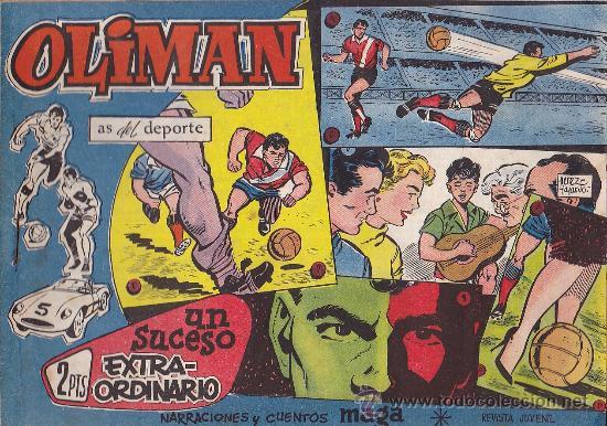 COMIC OLIMAN Nº 25 CON LAMINA POSTERIOR DEL EQUIPO DE FUTBOL REAL MALLORCA (Tebeos y Comics - Maga - Oliman)