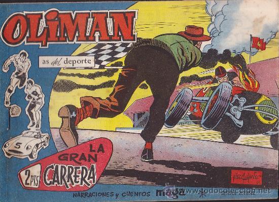 COMIC OLIMAN Nº 24 CON LAMINA POSTERIOR DEL EQUIPO DE FUTBOL REAL SOCIEDAD (Tebeos y Comics - Maga - Oliman)