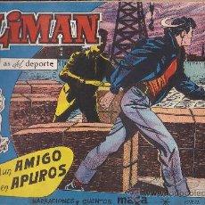 Tebeos: COMIC OLIMAN Nº 12 CON LAMINA POSTERIOR JUGADOR RUIZ SOSA. Lote 35378265