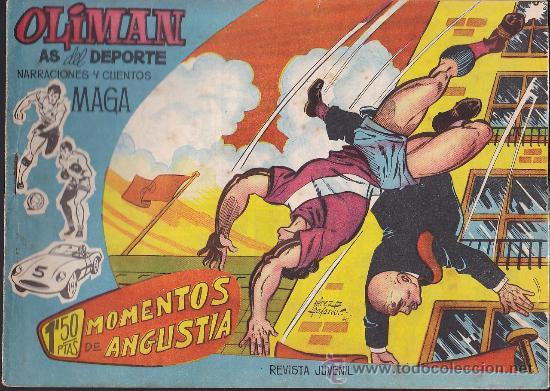 COMIC OLIMAN Nº 11 CON LAMINA POSTERIOR JUGADOR MARQUITOS (Tebeos y Comics - Maga - Oliman)