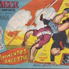 Tebeos: COMIC OLIMAN Nº 11 CON LAMINA POSTERIOR JUGADOR MARQUITOS. Lote 35378285