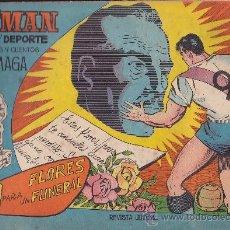 Tebeos: COMIC OLIMAN Nº 9 CON LAMINA POSTERIOR JUGADOR GARAY. Lote 35378413