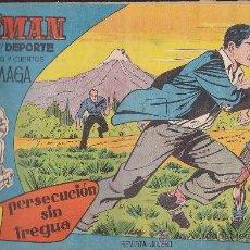 Tebeos: COMIC OLIMAN Nº 2 CON LAMINA POSTERIOR JUGADOR GENTO. Lote 35378697
