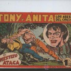 Tebeos: TONY Y ANITA,LOS ASES DEL CIRCO.EL MESTIZO ATACA !. Lote 35552403