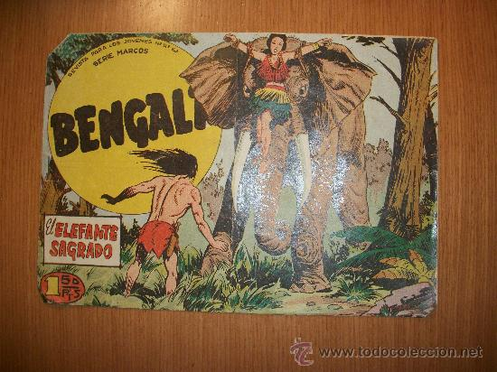 BENGALA 2ª Nº 30 EDITORIAL MAGA 1959 ORIGINAL (Tebeos y Comics - Maga - Bengala)