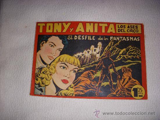 TONI Y ANITA Nº 94, DE 1,25 PTAS, EDITORIAL MAGA (Tebeos y Comics - Maga - Tony y Anita)