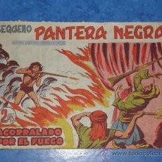 Tebeos: EL PEQUEÑO PANTERA NEGRA Nº Rº 31 ACORRALADO POR EL FUEGO. Lote 36020534