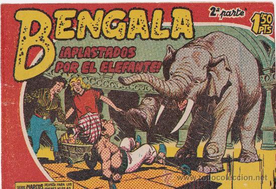 ¡ APLASTADOS POR EL ELEFANTE ! (Tebeos y Comics - Maga - Bengala)