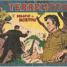 Tebeos: DAN BÁRRY EL TERRÉMOTO, AÑO 1.954. Nº 56 - 60. ORIGINALES, DIBUJANTE J. ORTIZ.. Lote 36141945