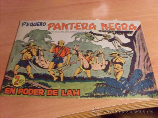PEQUEÑO PANTERA NEGRA Nº 206 ( ORIGINAL ED. MAGA) (MAG2) (Tebeos y Comics - Maga - Pantera Negra)