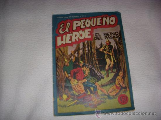 EL PEQUEÑO HÉROE Nº 34, EDITORIAL MAGA (Tebeos y Comics - Maga - Pequeño Héroe)