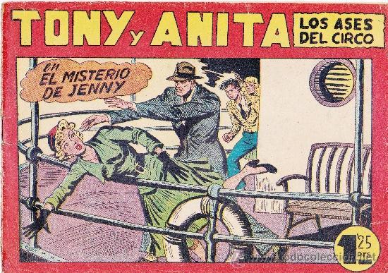 TONI Y ANITA,LOTE DE 2NºS. (Tebeos y Comics - Maga - Tony y Anita)