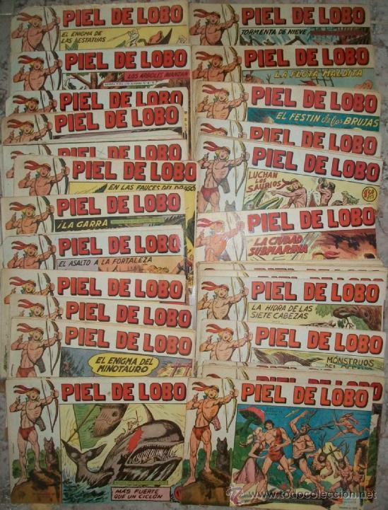 PIEL DE LOBO (MAGA) 83 EJ (A FALTA DE 7 NUMEROS) (Tebeos y Comics - Maga - Piel de Lobo)