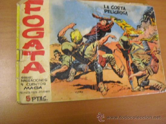 FOGATA SERIE NARRACIONES Y CUENTOS Nº 1, PICO CORTADO Y DOS CORTES EN GRAPA (Tebeos y Comics - Maga - Otros)