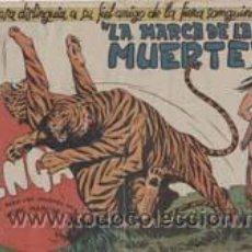 Tebeos: BENGALA 1ª EDICIÓN1959 COMPLETA ORTIZ CAJA 49 BIBLIOTECA. Lote 36785084