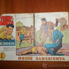 Giornalini: TONY Y ANITA Nº 44 2ª EPOCA EDITORIAL MAGA 1960 ORIGINAL . Lote 37062253